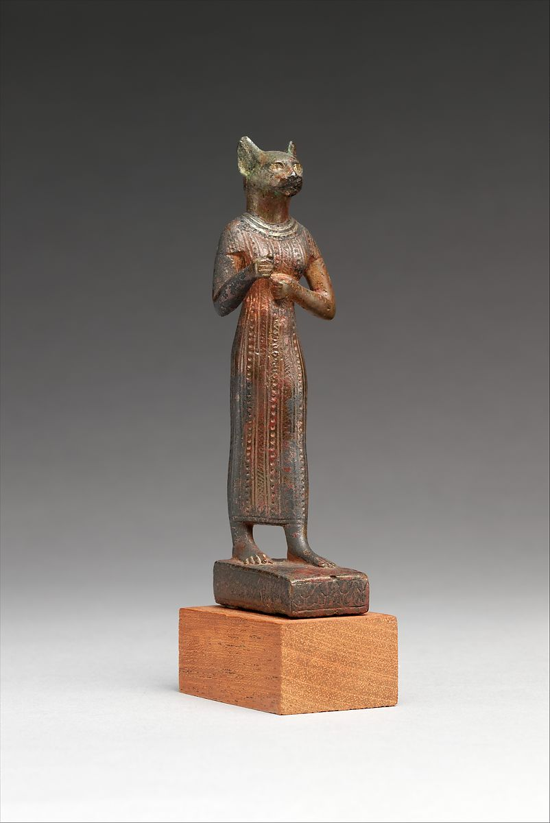 "Bastet, ancient Egyptian ""cat"" goddess of protection, 664–30 B.C.E."