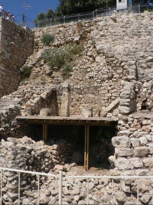The Stepped Stone Structure at the City of David