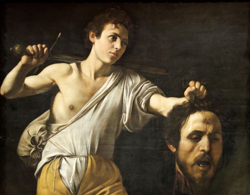 "Caravaggio: ""David with the Head of Goliath"" (1606/07)"