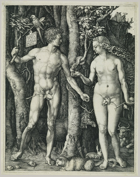 "Albrecht Dürer: ""Adam and Eve"" (1504)"